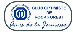 Logo: Club Optimiste de Rock Forest